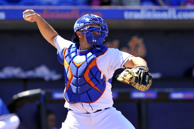 Mets Top Prospect Travis d'Arnaud Fractures Left Foot, Will Be Evaluated Today