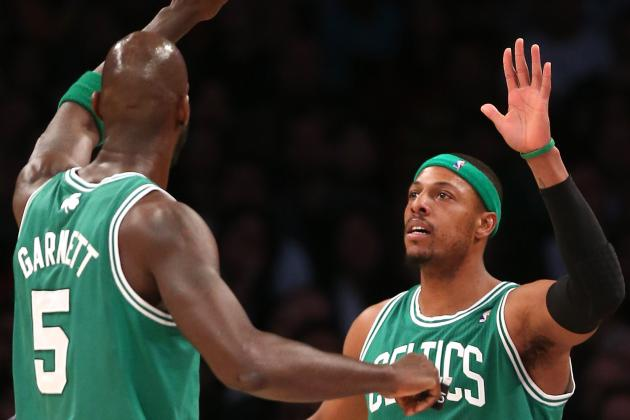 Bond Between Pierce and KG Only Grows Stronger