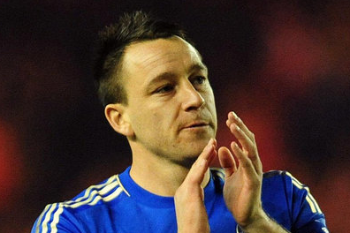 Chelsea Captain John Terry Snubs FA Chairman David Bernstein at London Ceremony