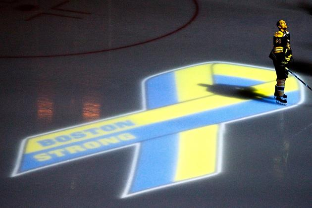 Boston Bruins Postpone Game vs. Penguins Due to Marathon Bombing Manhunt