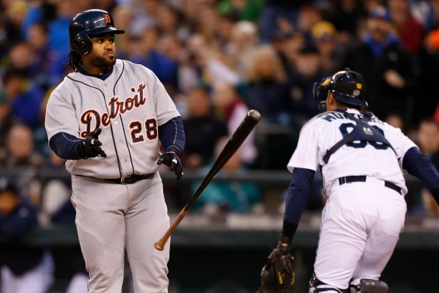 Tigers, Mariners Set MLB Strikeout Record for 3-Game Series with 82