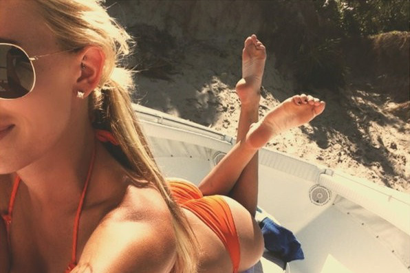 Paulina Gretzky and Her Bottom Are on a Boat Somewhere Beautiful