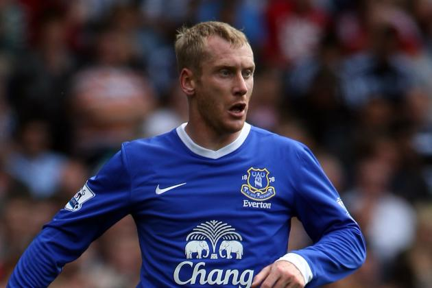 David Moyes: Everton's Tony Hibbert Well on Road to Recovery