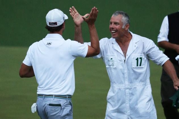 Caddie Steve Williams Dishes on Adam Scott's Win, Tiger Woods' Drop