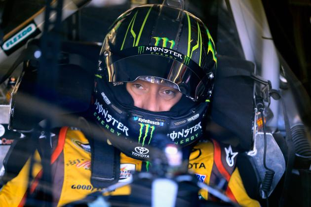 Kyle Busch to Backup Car at Kansas