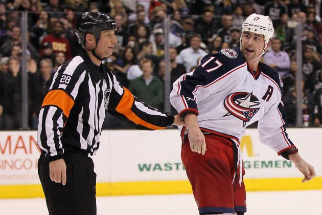 Dubinsky's Match Penalty Rescinded