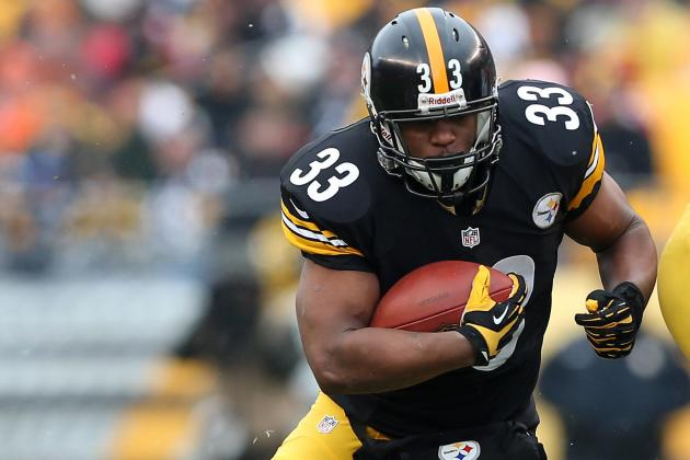 Steelers RB Isaac Redman Signs $1.323 Million Restricted Tender