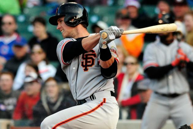 Giants Waiting on Buster Posey to Find His Stroke