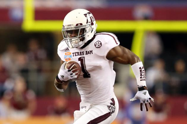 Bevy of Backs Bodes Well for A&M Offense
