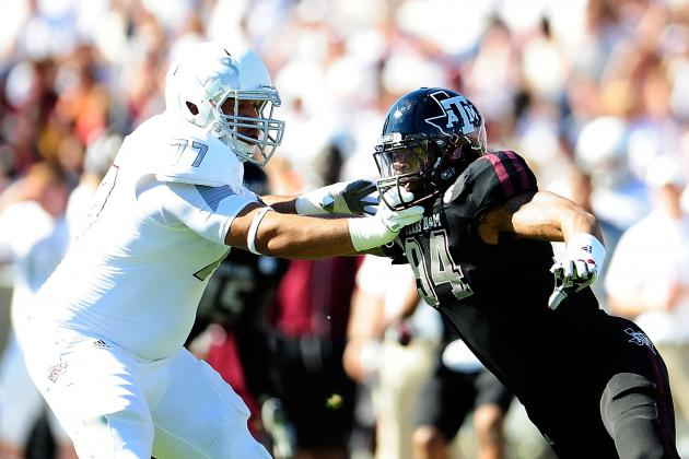 Damontre Moore Scouting Report: NFL Outlook for Texas A&M DE/LB