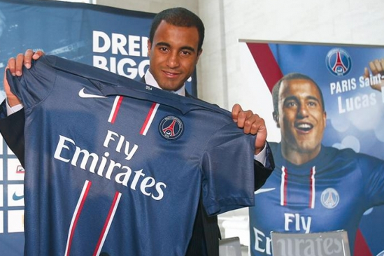 Lucas Moura Happy with Life at PSG