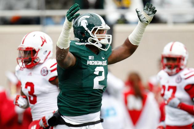 William Gholston Scouting Report: NFL Outlook for Michigan State DE