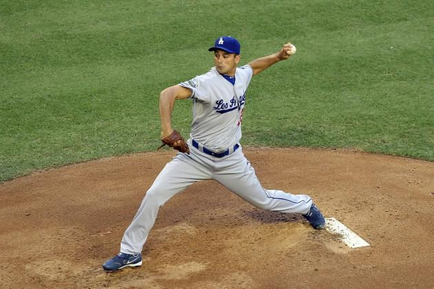 Ted Lilly Will Join the Dodgers' Rotation Next Week