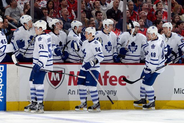 Maple Leafs' Playoff Buzz Is Building