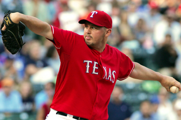 Texas Rangers SP Matt Harrison Out for the Season Following Back Surgery