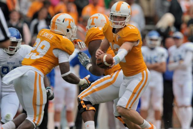 Vol Players Look to Progress in Orange and White Game