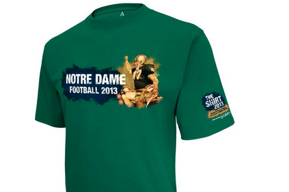 Notre Dame Unveils 'The Shirt' for 2013