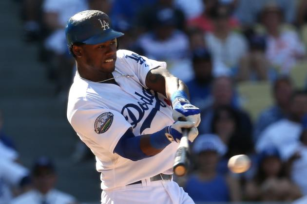 Dodgers' Hanley Ramirez Takes Batting Practice; Eyes April 30 Return