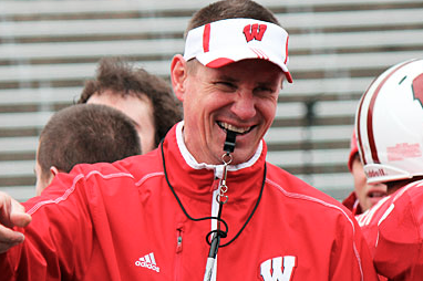 Wisconsin's Gary Andersen Making His Mark on the Badgers' Program