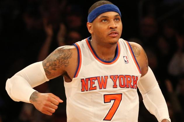 Carmelo Named East Player of Month