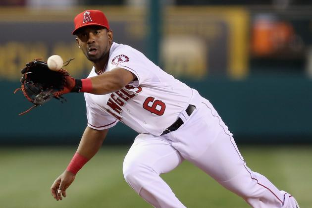 Angels Send Callaspo to DL