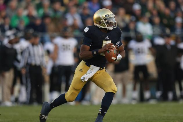 Notre Dame Spring Game 2013: Everett Golson Must Show Improvement at Scrimmage