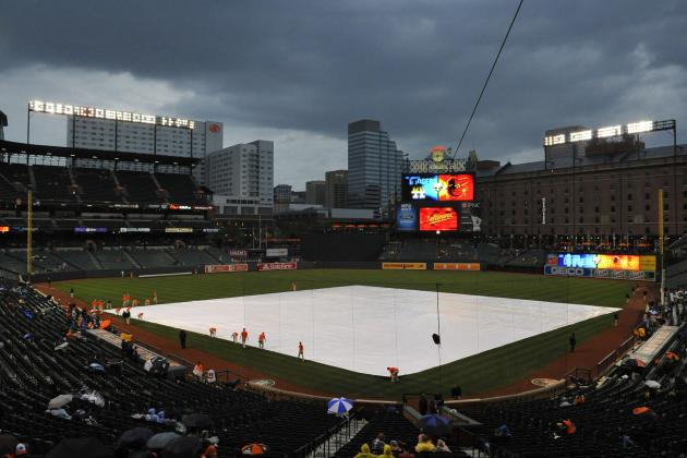 Orioles-Dodgers Rescheduled Due to Rain
