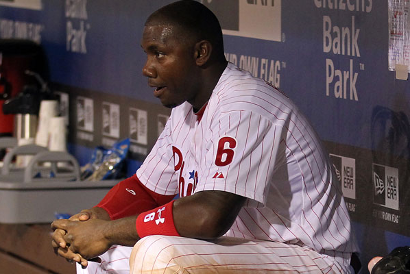 Ryan Howard Day-to-Day with Groin Injury