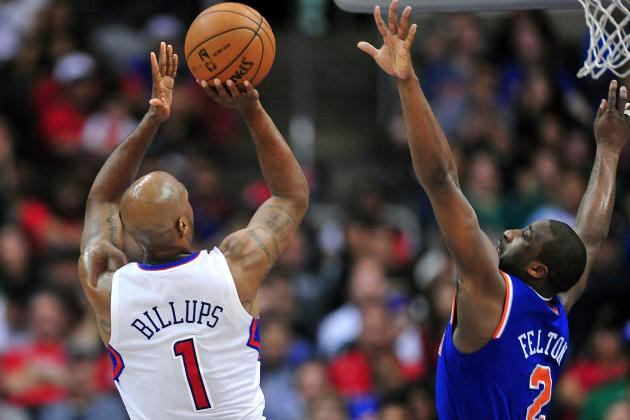 Billups Ready to Go for Game 1