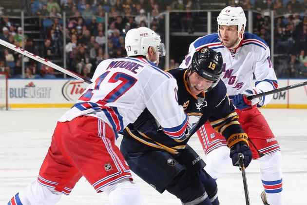 Rangers Cruise as Sabres out of Contention