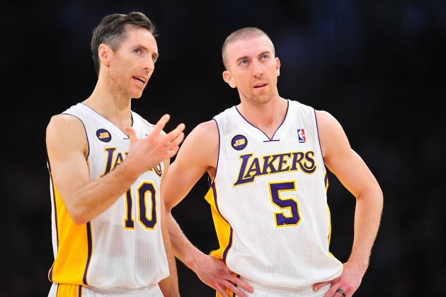 Underdog Lakers May Try Nash with Blake in Backcourt