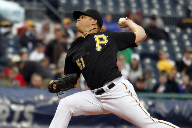 Pirates Shut out Braves Behind Rodriguez