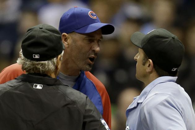 Dale Sveum Ejected for Arguing Pitch Call