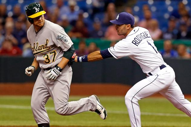 Rays 8, Athletics 3