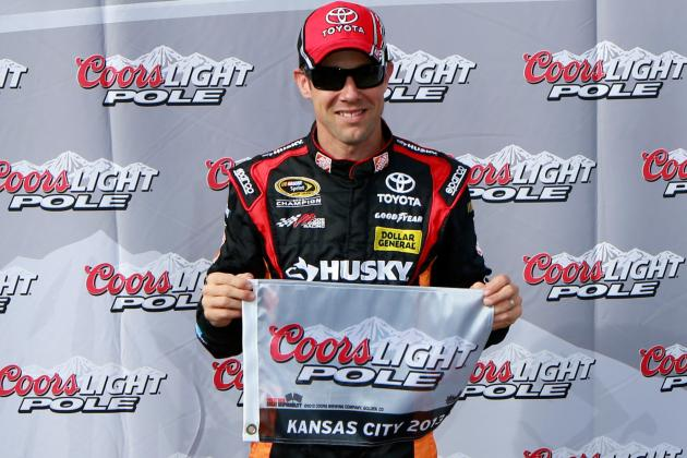 Matt Kenseth Beats Odds, Wins Pole at Kansas Speedway