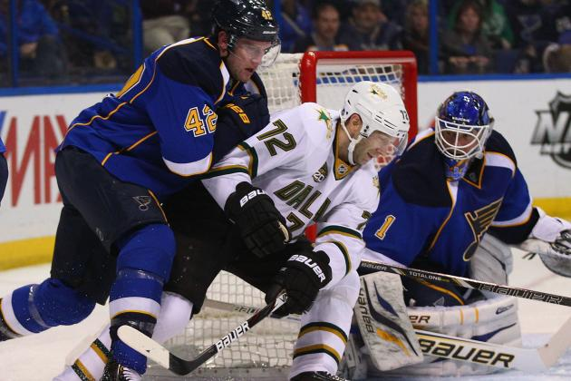 St. Louis Blues Beat Dallas Stars 2-1