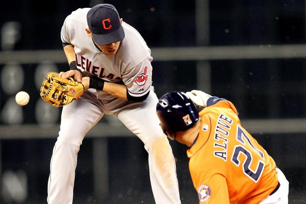 Slumbering Bats Send Indians to Fifth Straight Loss, 3-2 to Houston Astros