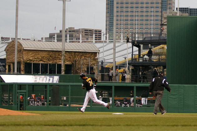 VIDEO: Pirates' Pedro Alvarez Hits a Ball out of PNC Park