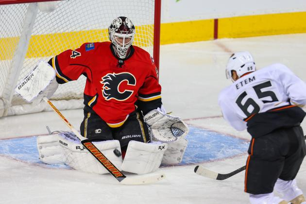 Flames Back Kiprusoff with Win over Ducks