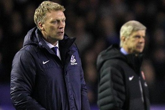 Everton Manager David Moyes Accuses Arsene Wenger of Being Disrespectful