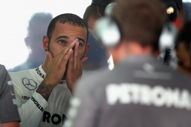 Grid Penalty for Lewis Hamilton After Gearbox Change