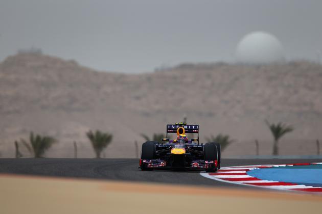 Formula 1: 2013 Bahrain Grand Prix Worldwide Broadcast, Broadband and Radio Info