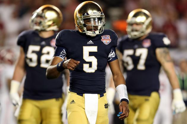 Notre Dame Spring Game 2013: Key Players to Watch in Fighting Irish Showcase