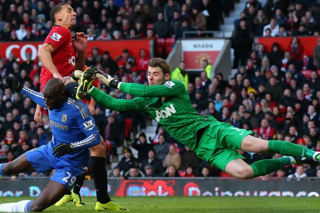 Manchester United Manager Sir Alex Ferguson Hails David de Gea