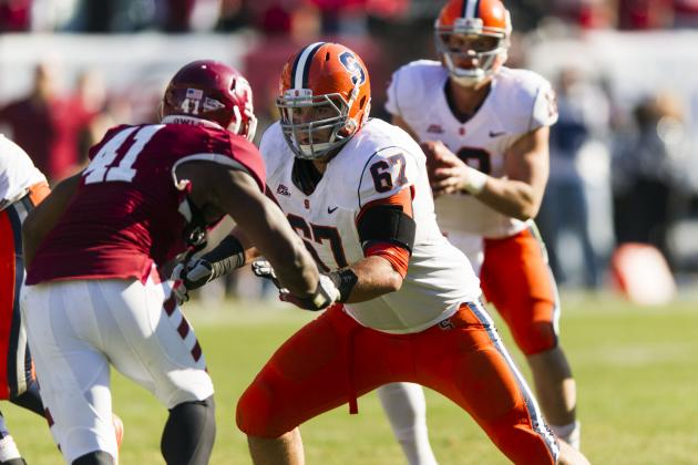 Justin Pugh Scouting Report: NFL Outlook for Syracuse OG