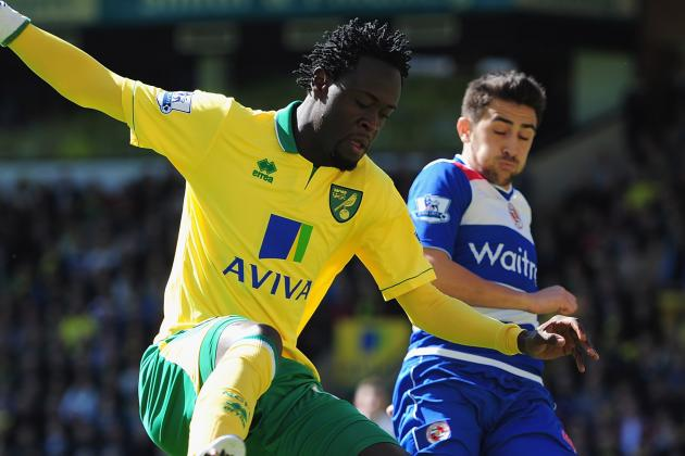 Norwich City 2 Reading 1: Match Report