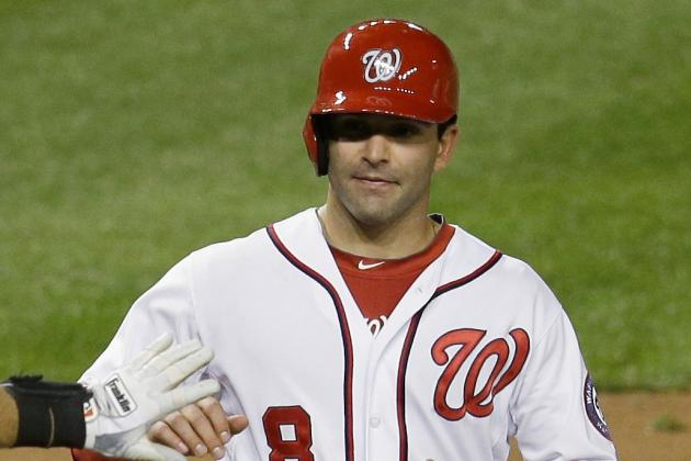 Danny Espinosa Returns to Lineup After 4 Game Absence
