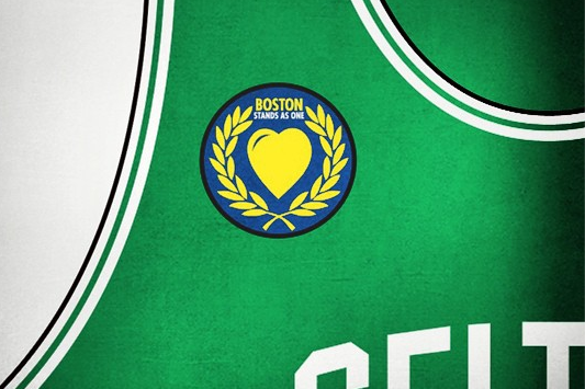 Photo: Celtics to Wear 'Boston Stands as One' Patch