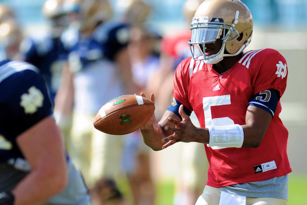 Notre Dame Football 2013 Spring Game: Live Analysis, Notes and Recap