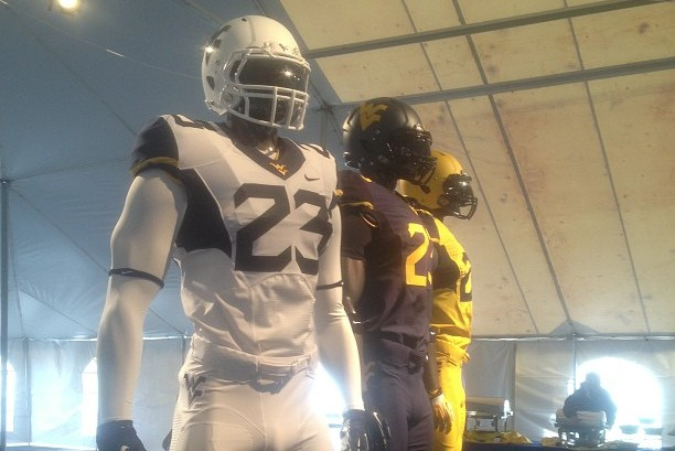 West Virginia Unveils 3 New Uniforms for 2013